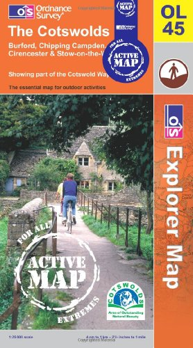 The Cotswolds By Ordnance Survey