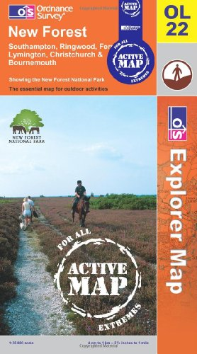 New Forest By Ordnance Survey