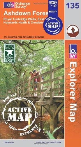 Ashdown Forest By Ordnance Survey
