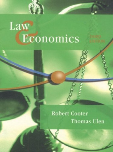Law and Economics By Robert D. Cooter