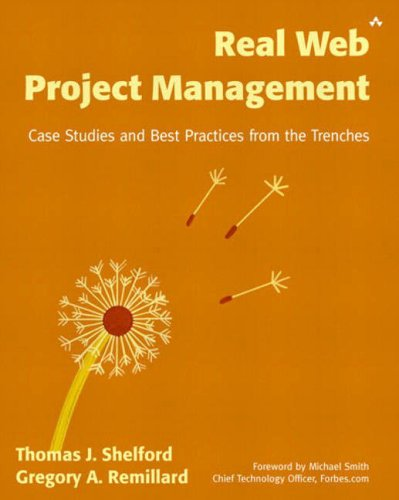 Real Web Project Management By Thomas J. Shelford