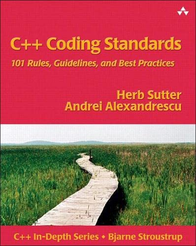C++ Coding Standards By Herb Sutter