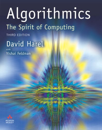 Algorithmics By David Harel