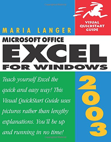 Microsoft Office Excel 2003 for Windows By Maria L. Langer