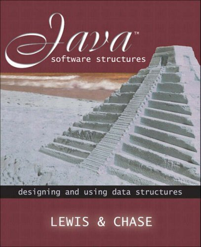 Java Software Structures By John Lewis