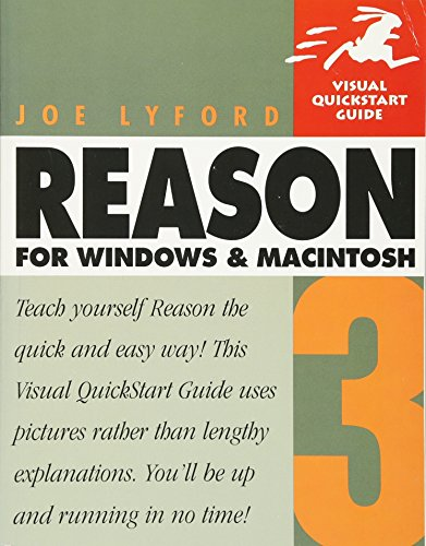 Reason 3 for Windows and Macintosh By Joe Lyford