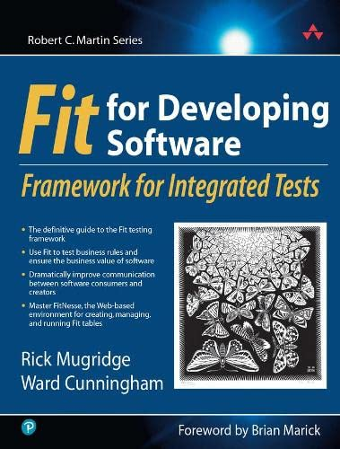 Fit for Developing Software By Rick Mugridge