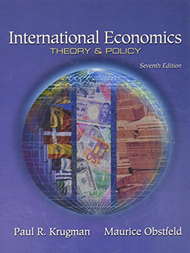 International Economics: Theory and Policy: United States Edition by Paul R. Krugman