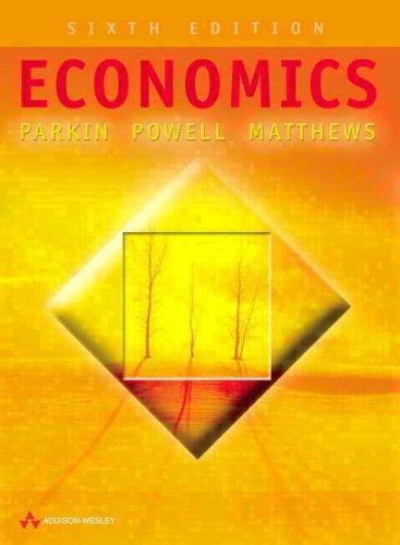 Economics by Kent Matthews