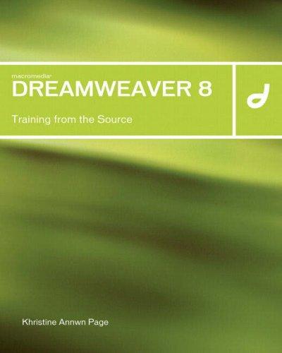 Macromedia Dreamweaver 8 By Khristine Annwn Page