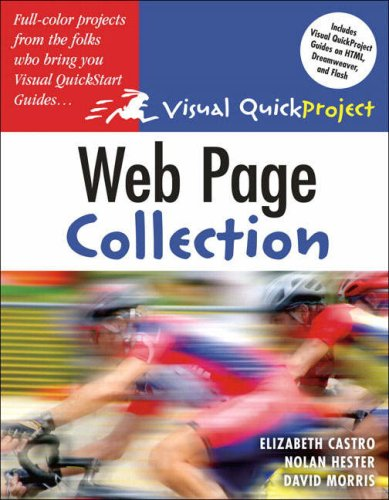 Web Page Visual QuickProject Guide Collection By Elizabeth Castro