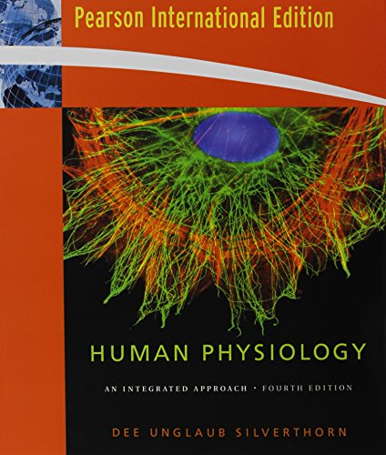 Human Physiology Fourth Edition International Version By Silverthorn