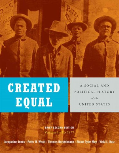 Created Equal By Jacqueline Jones