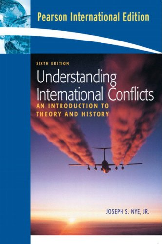 Understanding International Conflicts International