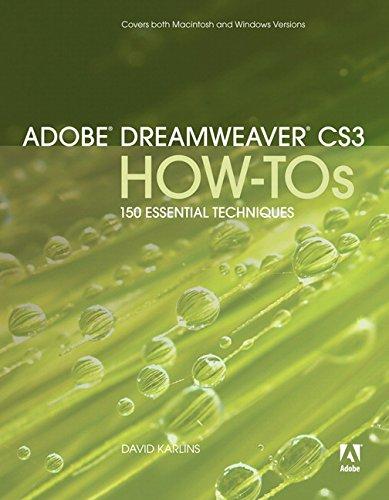 Adobe Dreamweaver CS3 How-Tos By David Karlins