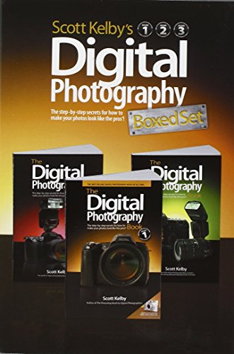 Scott Kelby's Digital Photography Boxed Set, Volumes 1, 2, and 3 By Scott Kelby