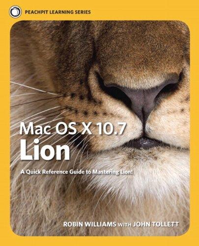 Mac OS X Lion By Robin Williams