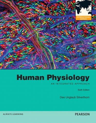 Human Physiology By Dee Unglaub Silverthorn