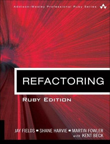 Refactoring By Jay Fields