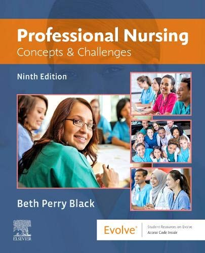 Professional Nursing By Beth Black