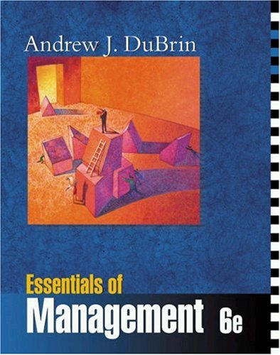 Essentials of Management By Andrew J. DuBrin