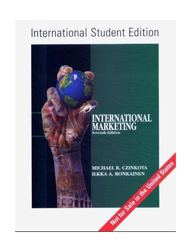 International Marketing By Michael R. Czinkota
