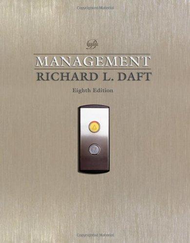 Management By Richard L Daft
