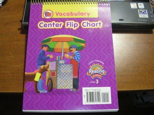 Reading 2008 Vocabulary Center Flip Chart Grade 3 By Scott Foresman