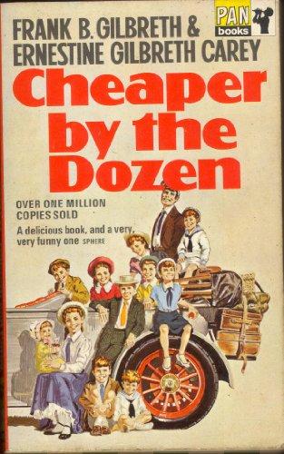 Cheaper By The Dozen (Pan Books) By Ernestine Gilbreth Carey