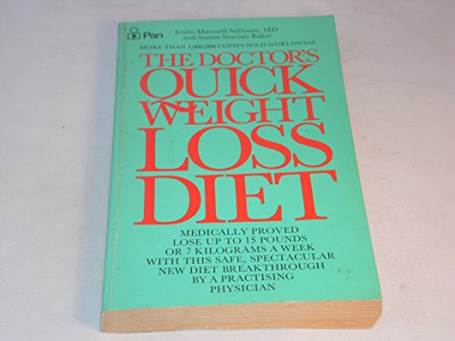 The Doctor's Quick Weight Loss Diet By I.M. Stillman