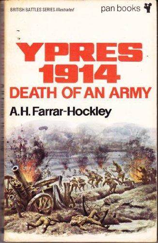 Ypres, 1914 By Anthony Farrar-Hockley
