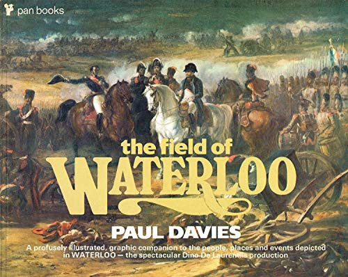 Field of Waterloo by Davies, Paul Paperback Book The Cheap Fast Free Post