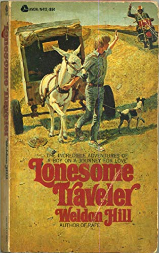Lonesome-Traveller-by-Hill-Weldon-Paperback-Book-The-Cheap-Fast-Free-Post