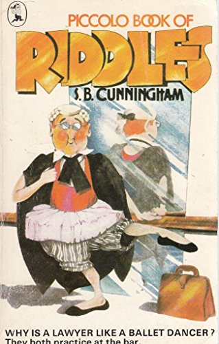 Book of Riddles By S.B. Cunningham