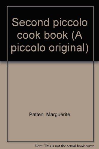 Second piccolo cook book (A piccolo original) By Marguerite Patten