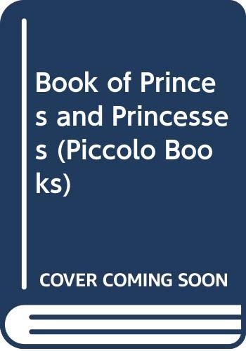 Book of Princes and Princesses By Ruth Manning-Sanders