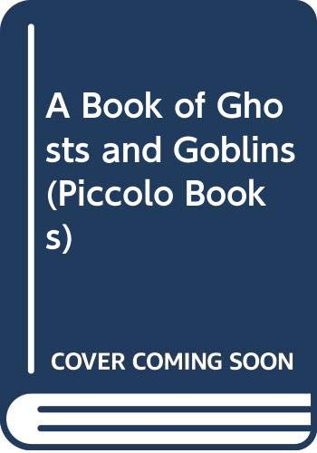 A Book of Ghosts and Goblins By Ruth Manning-Sanders