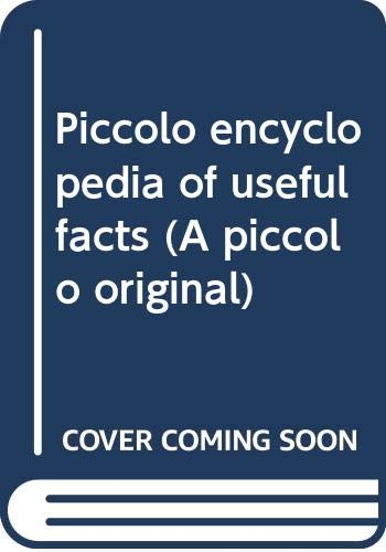 Piccolo encyclopedia of useful facts (A piccolo original) By Jean Stroud