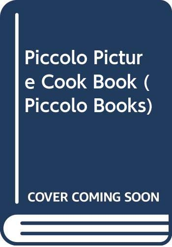 Piccolo Picture Cook Book By Sarah Freeman