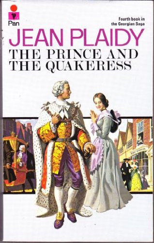 Prince and the Quakeress By Jean Plaidy