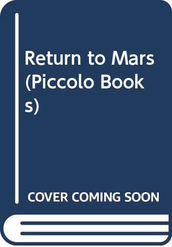 Return to Mars By W. E. Johns