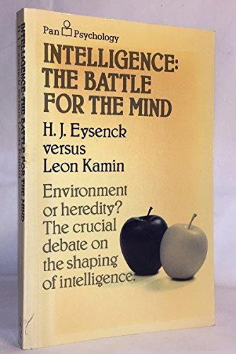 Intelligence By H. J. Eysenck