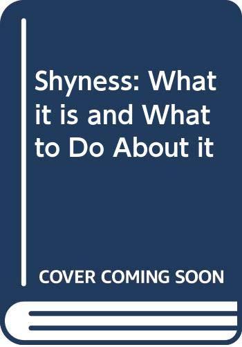 Shyness By Philip G. Zimbardo