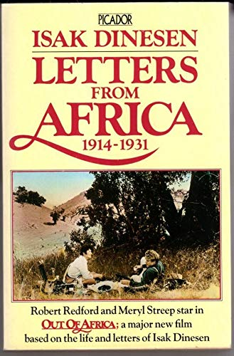Letters from Africa, 1914-31 By Isak Dinesen