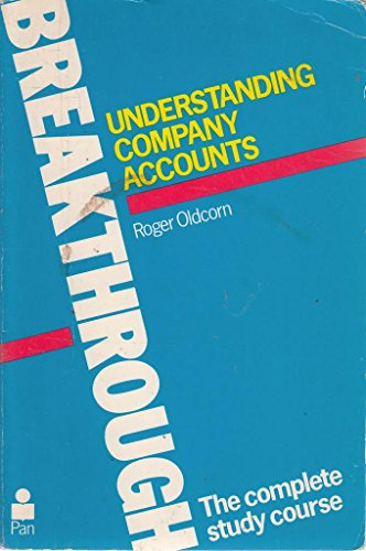 Understanding Company Accounts By Roger Oldcorn