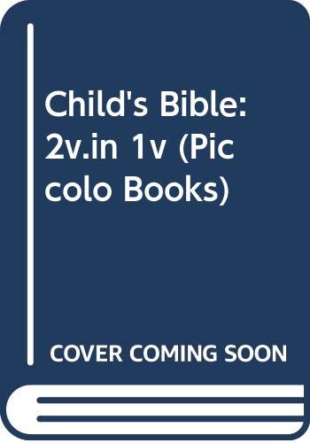 Child's Bible By Edited by Shirley Steen