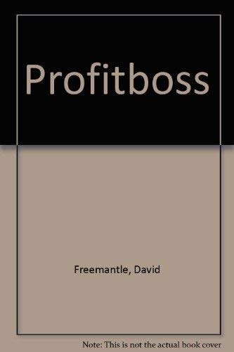 Profitboss By David Freemantle