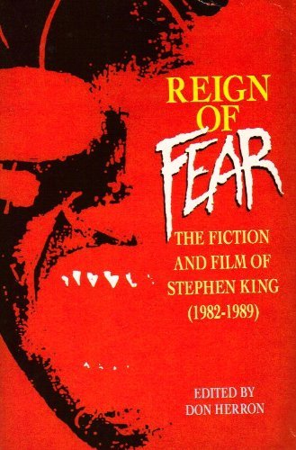 Reign of Fear By Edited by Don Herron