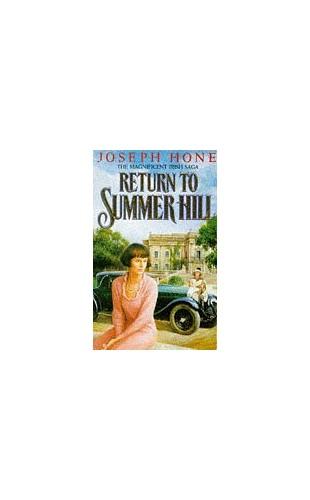 Return to Summer Hill By Joseph Hone