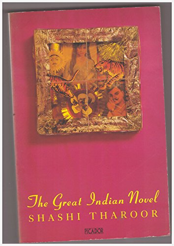 The Great Indian Novel By Shashi Tharoor